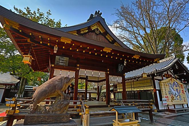 護王神社 拝殿