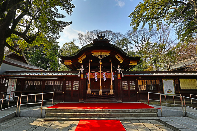 護王神社 本殿
