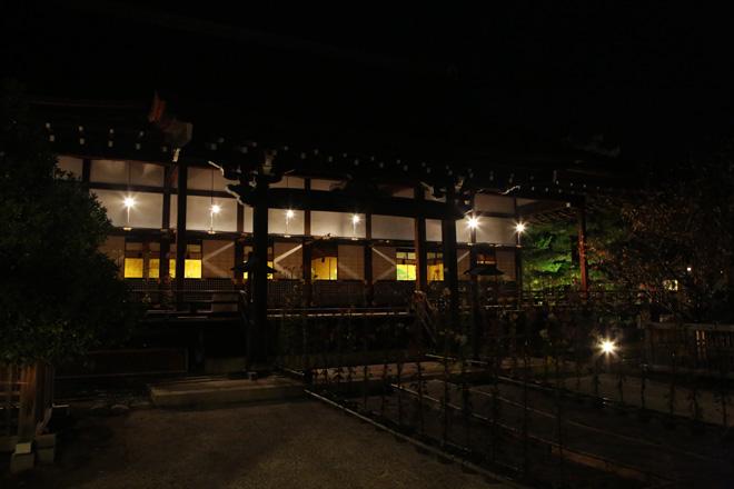 大覚寺 ライトアップ